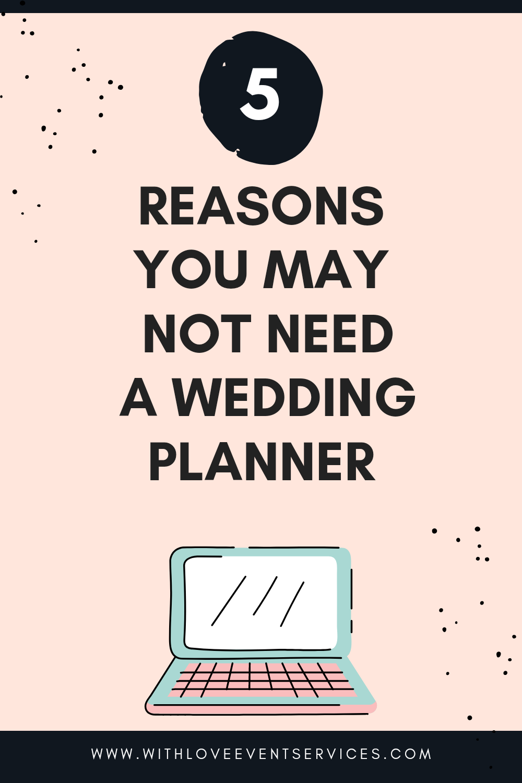 Wedding planner blog tittle